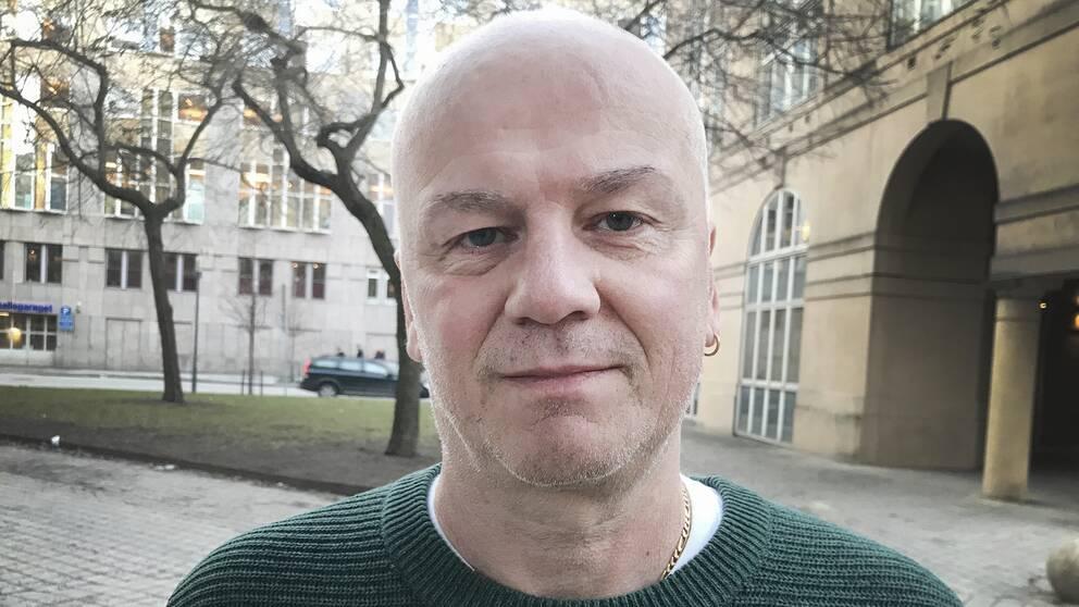 Andreas Rocksén har arbetat med dokumentären Cold Case Hammarsköld.