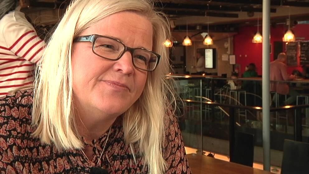 """Marie Blomberg, medicinskt ledningsansvarig vid förlossningen på Universitetssjukhuset i Linköping. Hon blir Årets banbrytare i vården med motiveringen att hon """"med stark övertygelse granskat och utvecklat förlossningsvården, och med ett uthålligt och engagerat ledarskap lyckats nå betydande förbättringsresultat och fått ner kejsarsnittsfrekvensen till Sveriges lägsta med bibehållen medicinsk säkerhet."""""""