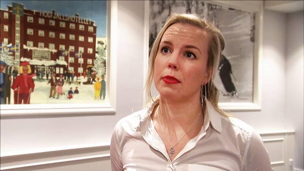 Linda Snecker Vänsterpartiet Norrköping riksdagsledamot Östergötland