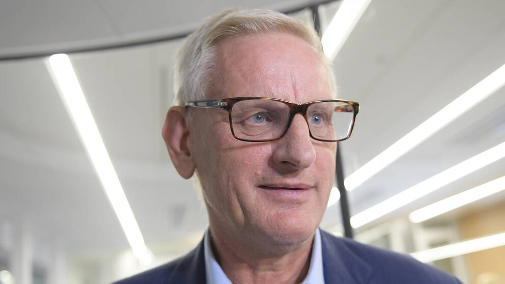 Moderaternas tidigare partiledare och statsminister Carl Bildt.
