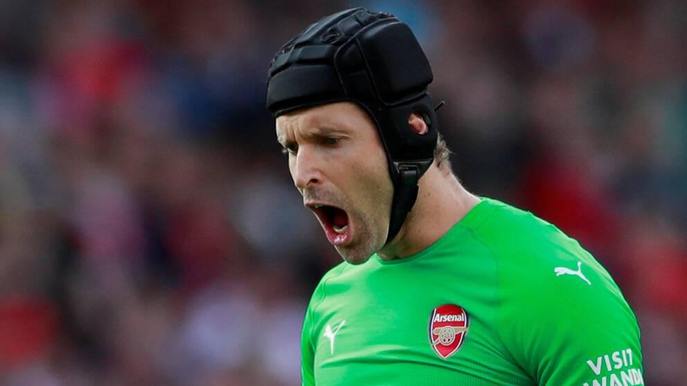 Tjeckiske målvaktslegendaren Petr Cech.