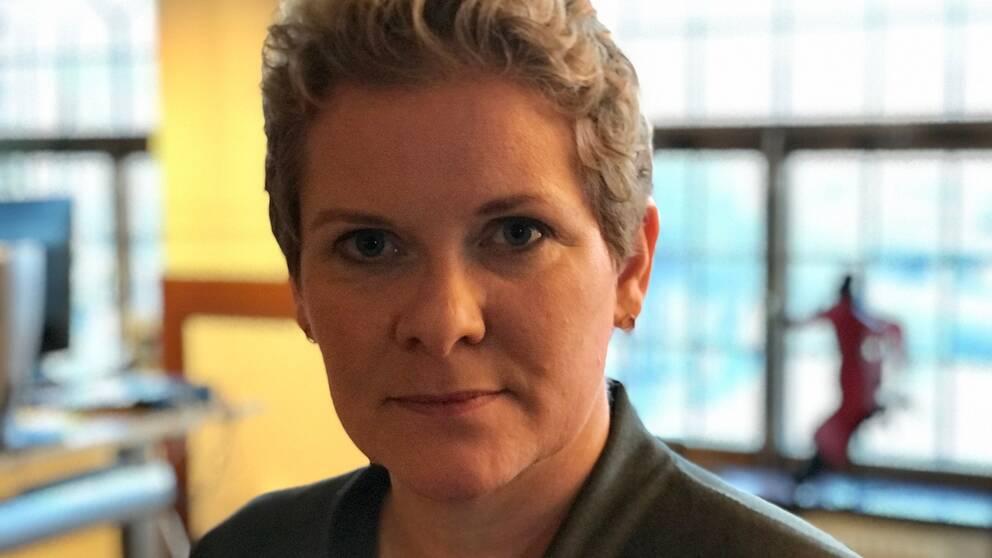 Oppositionsborgarråd Karin Wanngård (S).