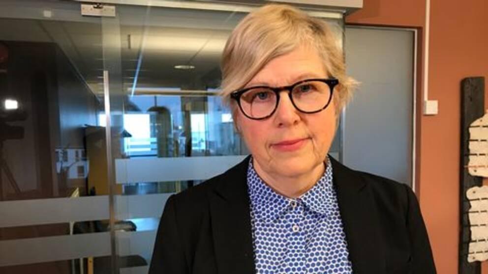 Lena Uddemar, socialt ansvarig socionom