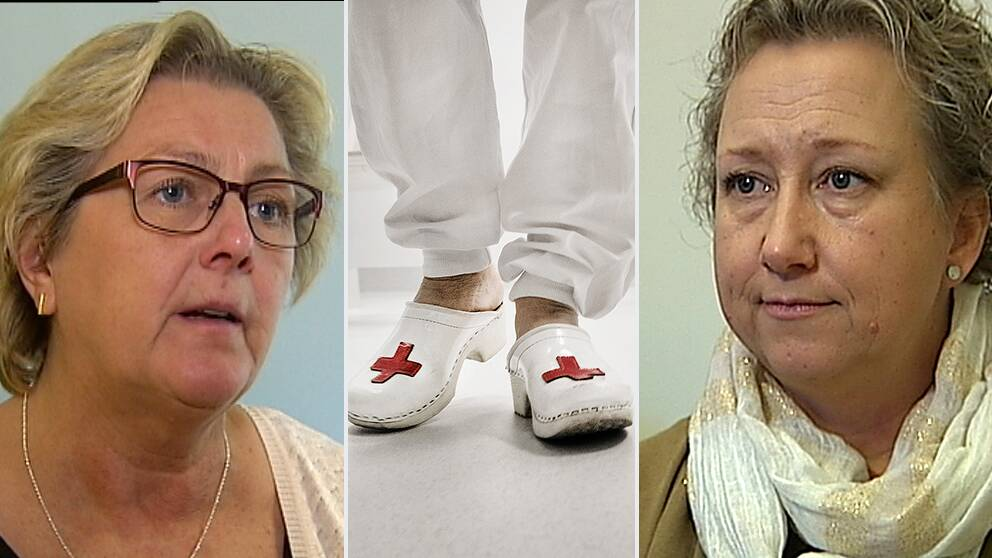 Lena Asplund (M) och Anna Olofsson dekan