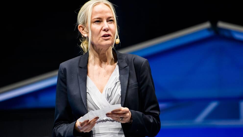 Petra Sörling, ordförande Svenska bordtennisförbundet.