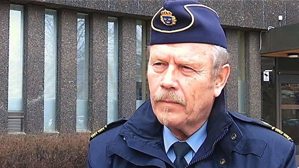 Stefan Dangardt är polisens presstalesperson i region Bergslagen.
