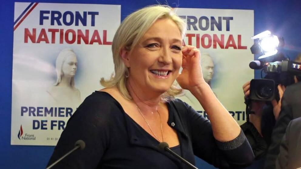 Marine Le Pen, partiledare för franska Front National.