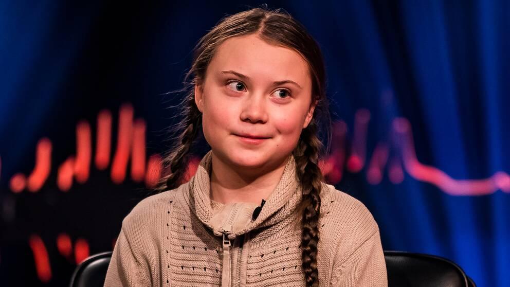 16-åriga klimataktivisten Greta Thunberg gästar Skavlan.