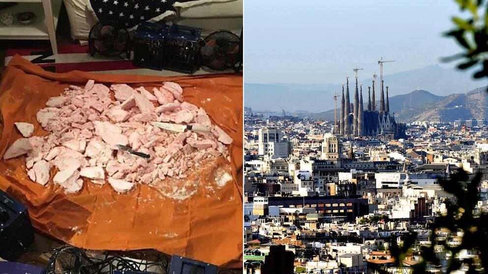 Narkotika och Barcelona.