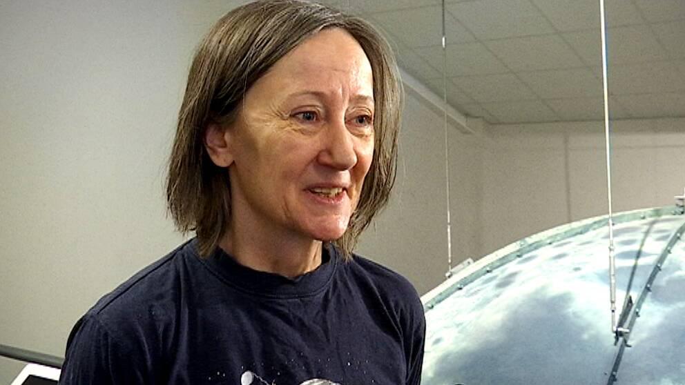 Marianne Eik, rymdpedagog umevatoriet.