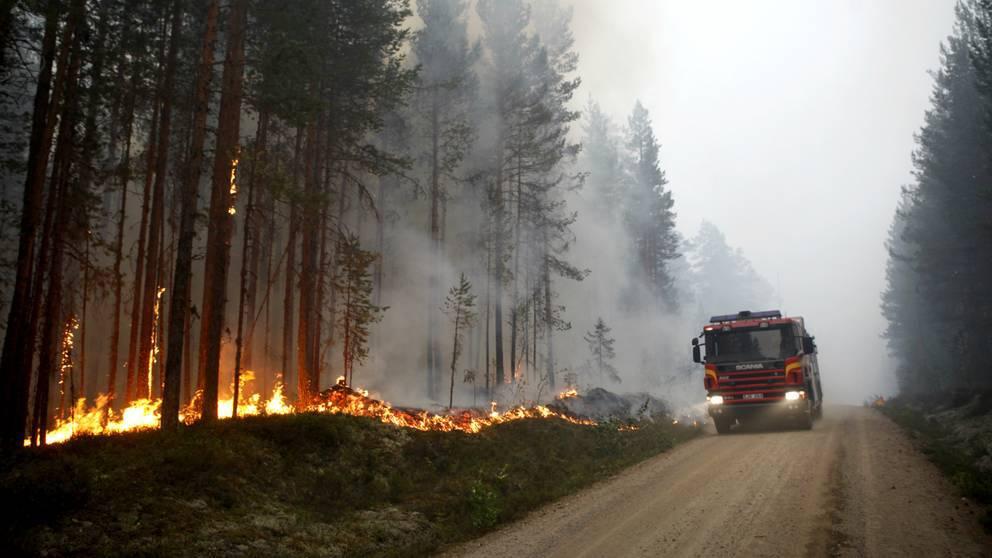 Varannan brandman: Resursbrist förvärrade sommarens bränder
