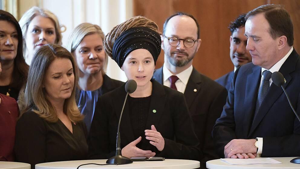 Amanda Lind (MP) blir ny kulturminister