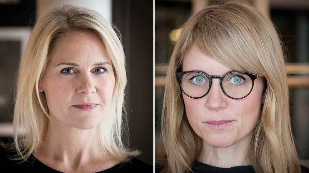 Josephine Appelqvist och Anna Sander är grundare av organisationen Talita som hjälper kvinnor som fastnat i prostitution. På bilden syns Josephine Appelqvist och Anna Sander.