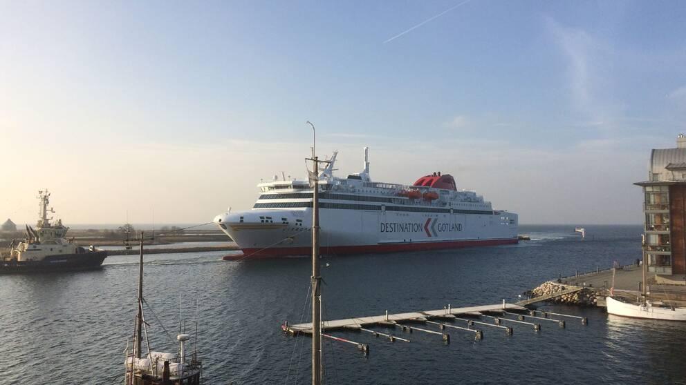 destination gotland m/s visborg landskrona