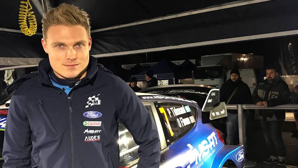 Rallyföraren Pontus Tidemand på plats i Monte Carlo för WRC-premiären.