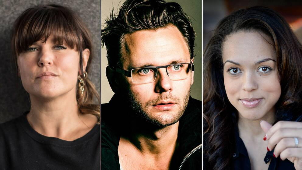 """Mia Skäringer och Elaine Eksvärd är två kända röster som drivit en hård kritik mot bland andra komikern Anton """"Mr Cool"""" Magnusson."""