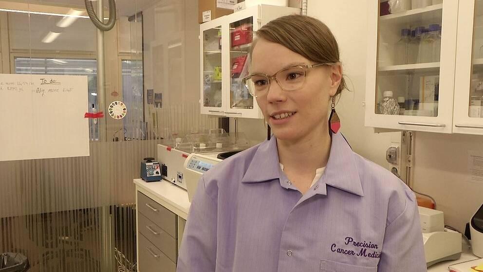 Postdoc-forskare Sandra Jernström