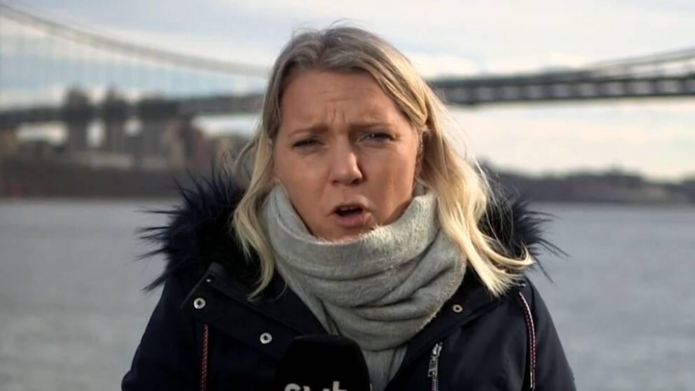 SVT:s USA-korrespondent Carina Bergfeldt