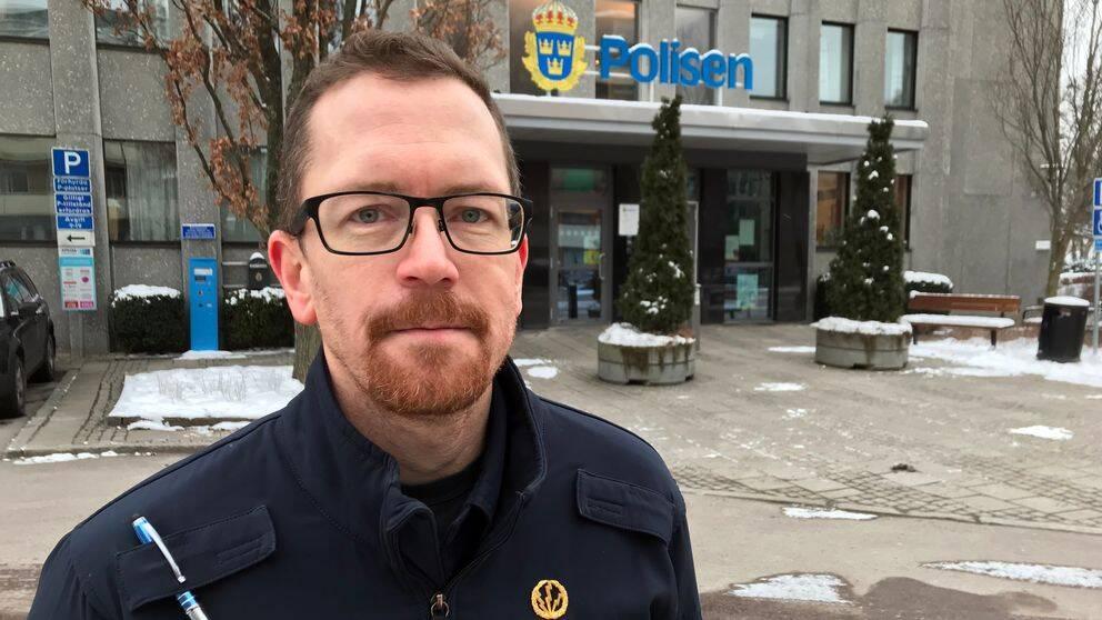Pelle Nellberg, presstalesperson polisen