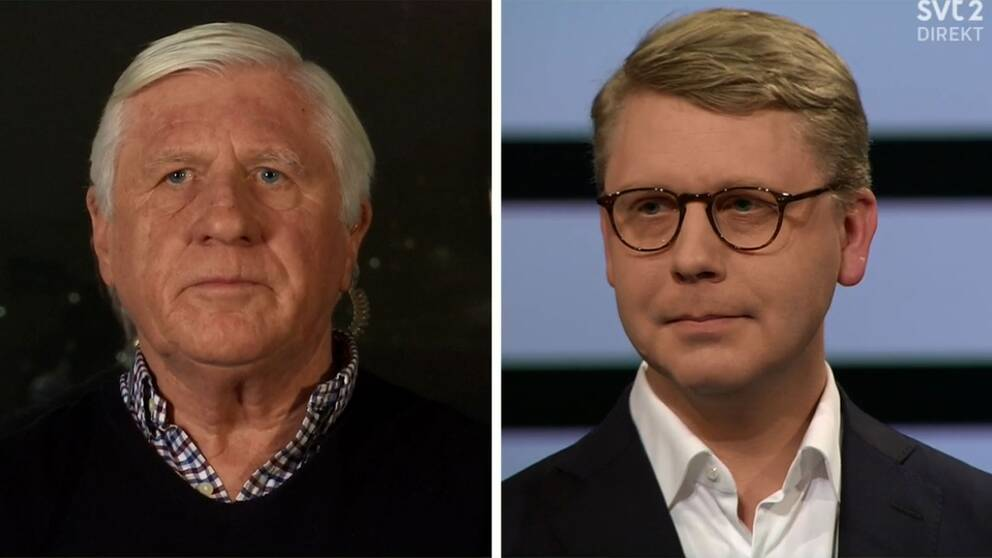 Johnny Magnusson och Kristoffer Tamsons.