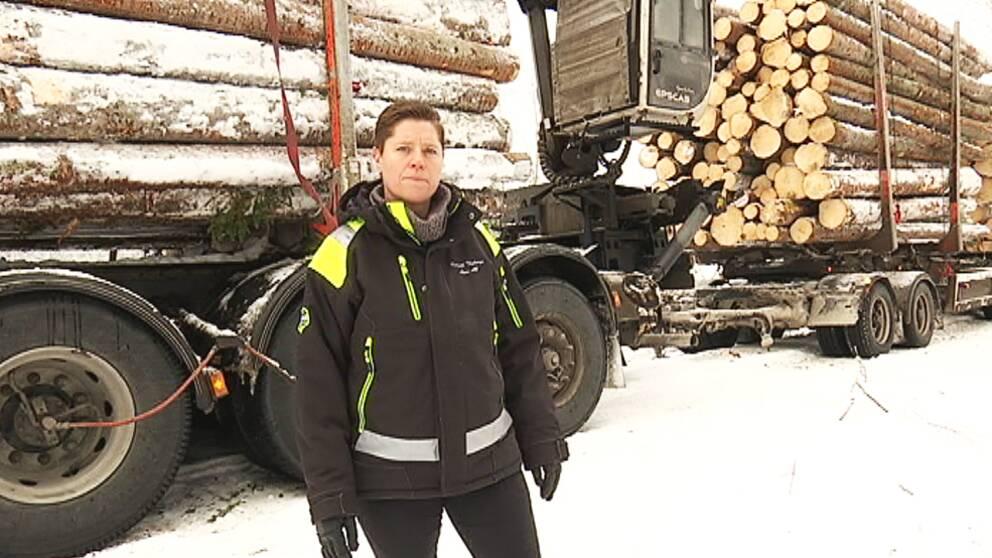 åkeriägaren Marina Thyberg