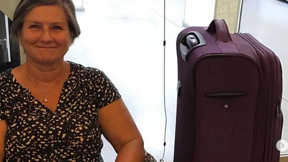 Väder-Helen gav sig ut på sitt livs resa efter pensioneringen från SVT.