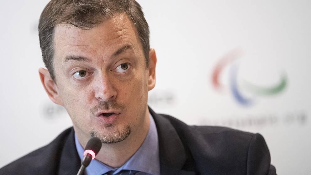 Andrew Parsons, ordförande i internationella paralympiska kommittén.