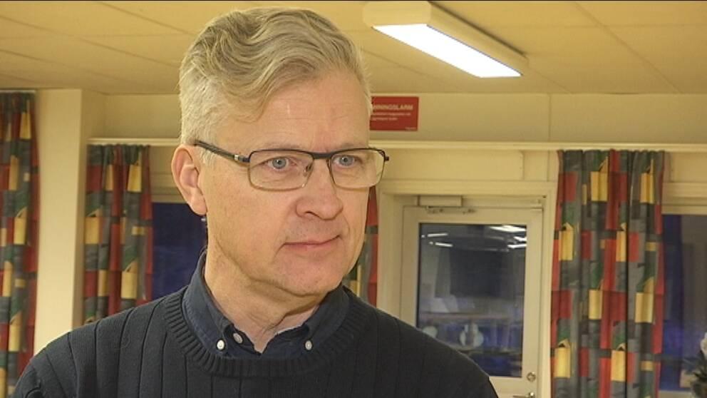 Peter Heie (C) är nytillträdd ordförande i NU-sjukvårdens styrelse.