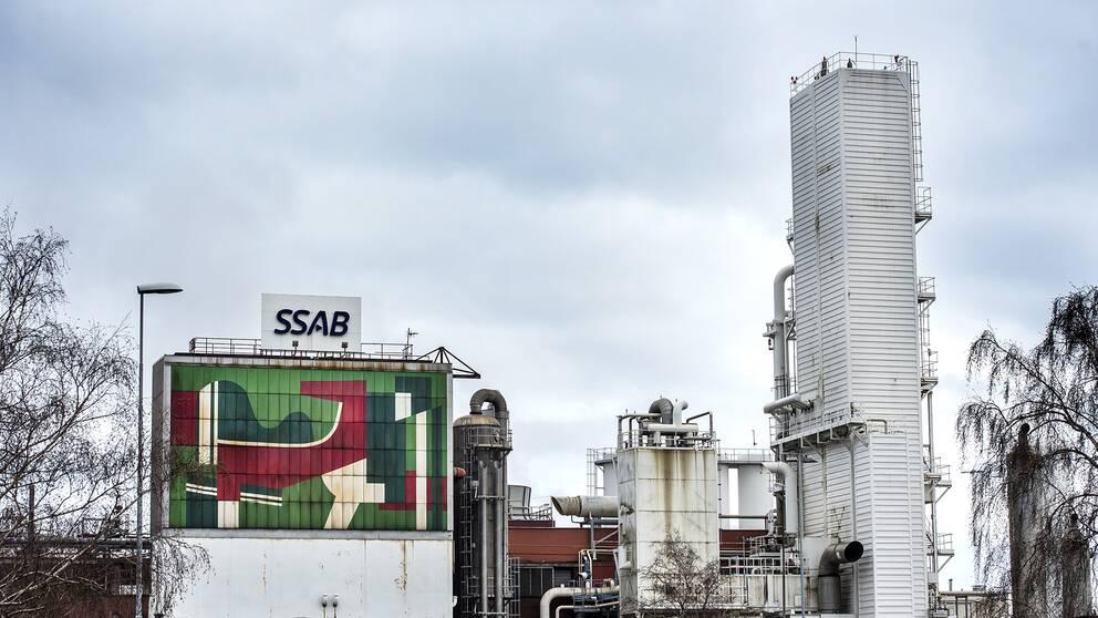 Oxelösunds järnverk är en del av stålkoncernen SSAB