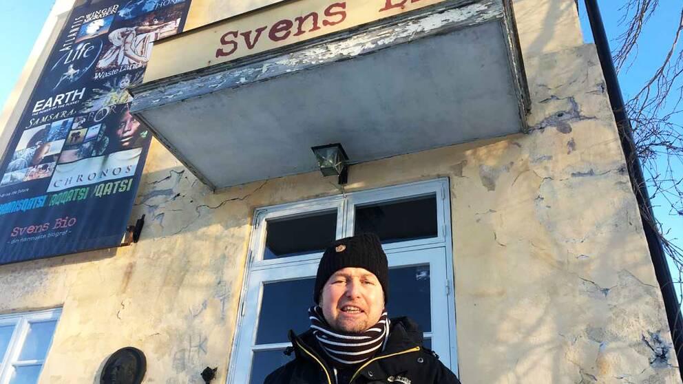 Arrangören Erik Klefbom hoppas festivalen kan bli årligt återkommande