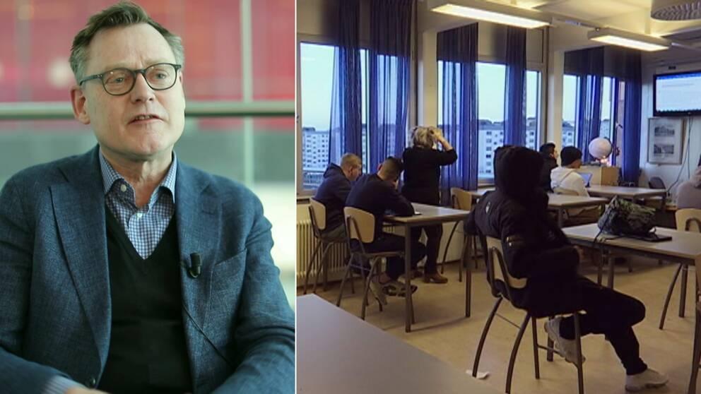 Peter Fredriksson, skolverkets gen.dir.