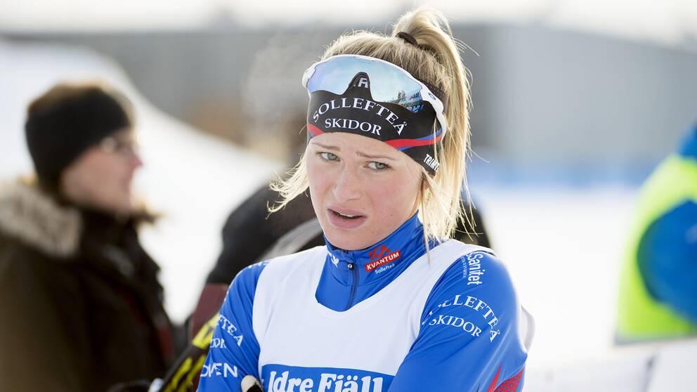 Sollefteås supertalang Frida Karlsson.