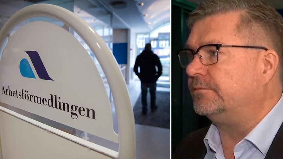 Arbetsförmedlingens generaldirektör Mikael Sjöberg: