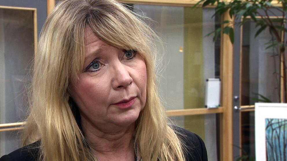 Anna-Lena Wakenius, arbetsförmedlingschef i Halland