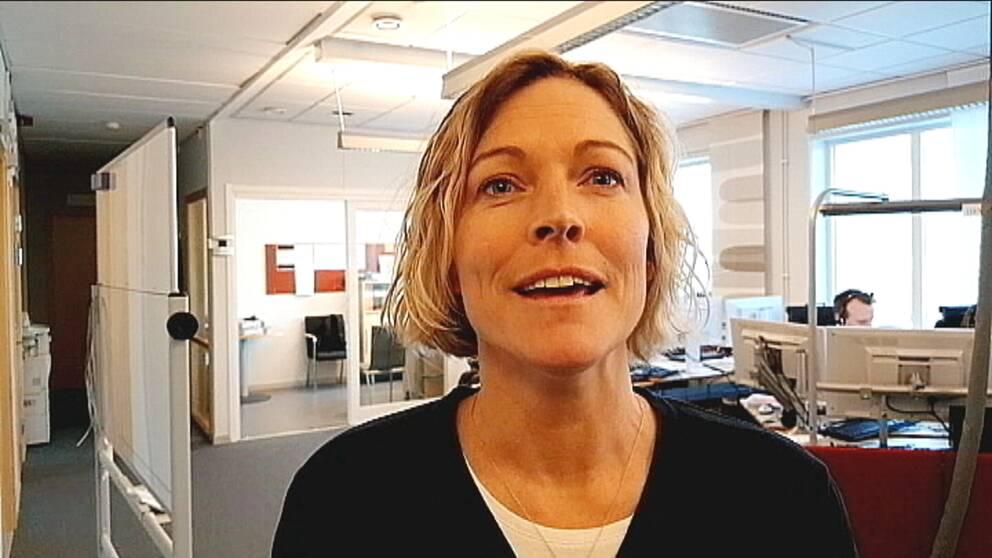 Platschefen Helena Spets