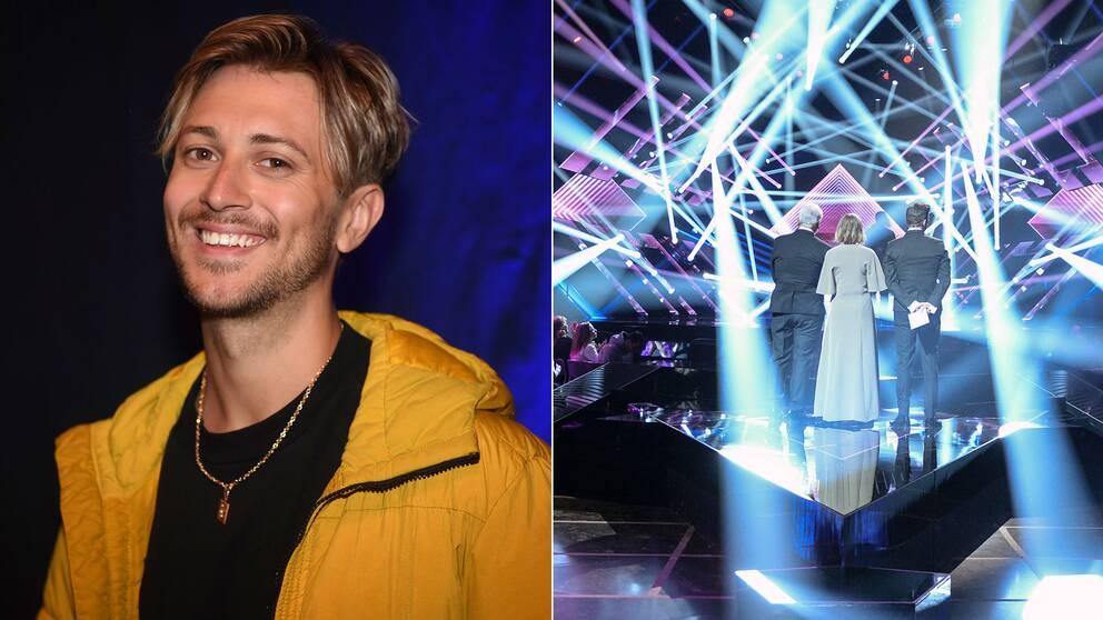 Vlad Reiser medverkar i årets upplaga av Melodifestivalen med låten Naken i regnet.