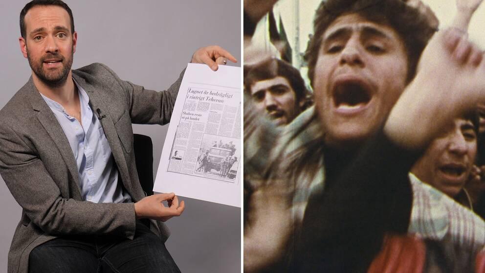 Forskaren Daniel Ritter: Iranska revolutionen förändrade maktbalansen i världen