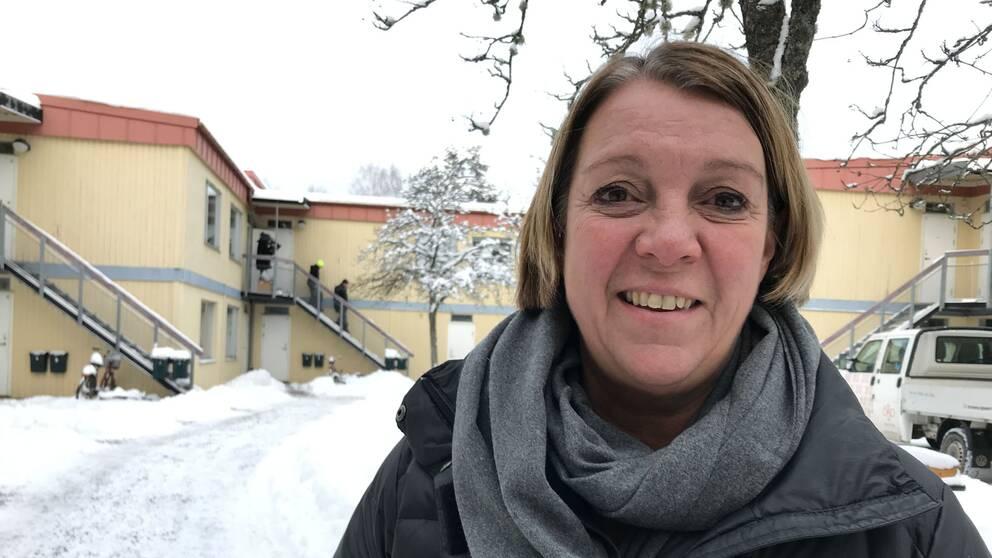 Monica Gunnarsson, direktor på Örebro stadsmission.
