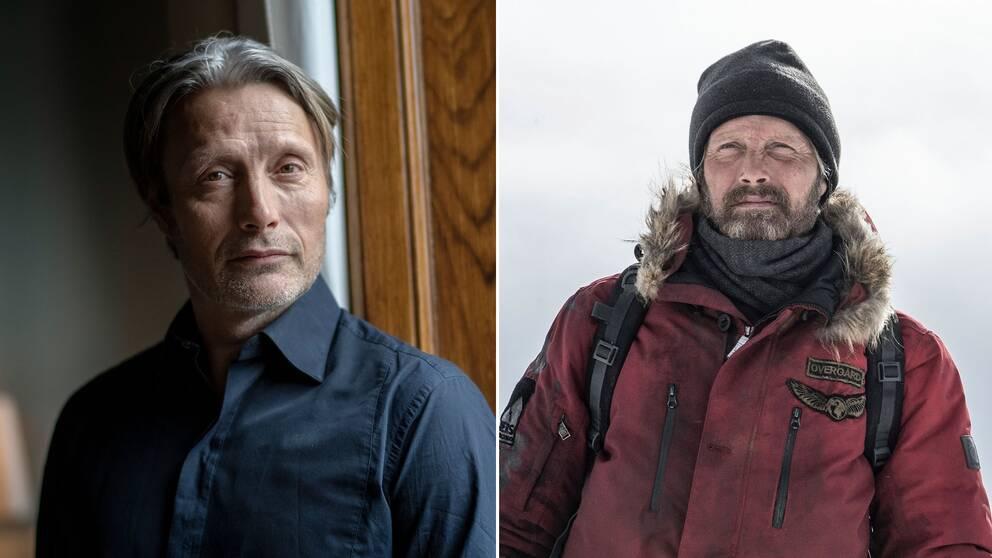 Mads Mikkelsen är bland annat aktuell med nya överlevnadsfilmen Arctic.