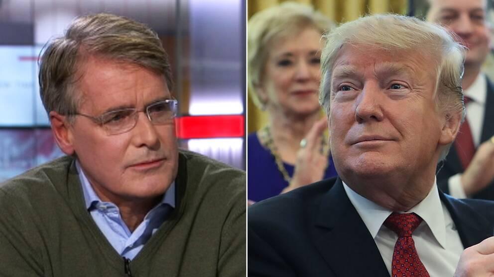 Christer Gardell och Donald Trump