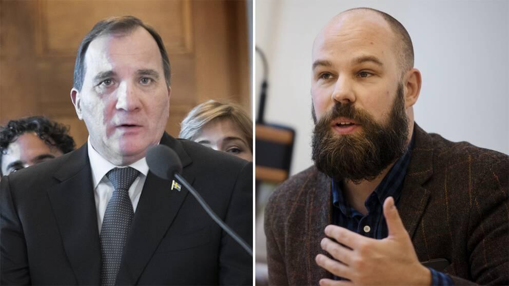 Stefan Löfven och Daniel Suhonen.