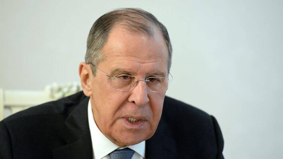 Arkivbild: Rysslands utrikesminister Sergej Lavrov.