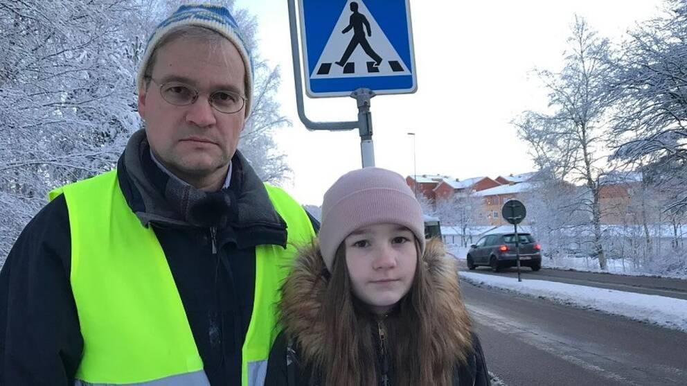 Robert Moldén och hans dotter Marie Moldén.