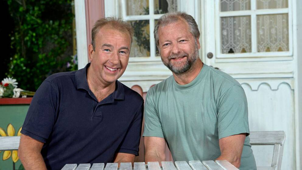 Stefan Gerhardsson och Krister Claesson.