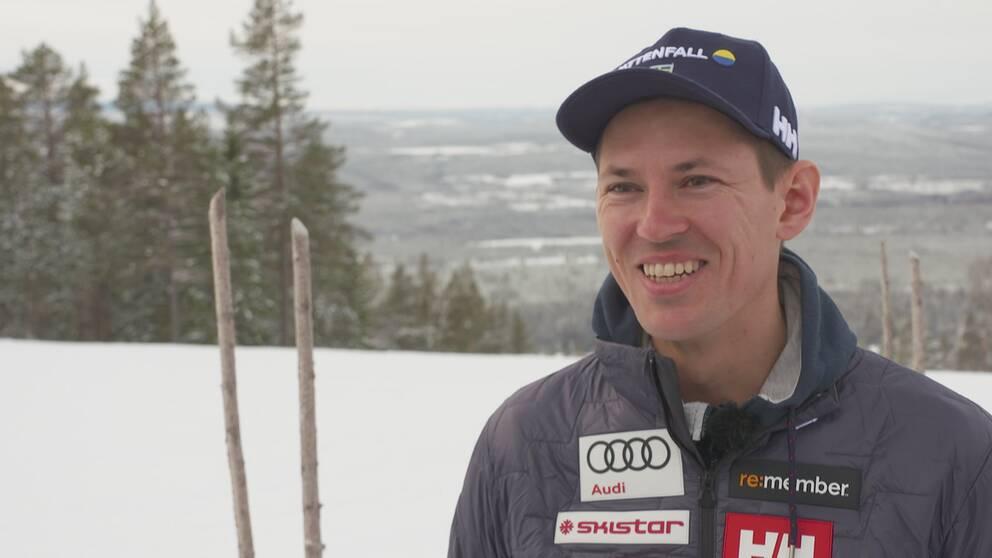 André Myhrer tror på sig själv inför VM-slalomen men menar att han slår ur underläge efter en tung säsong.