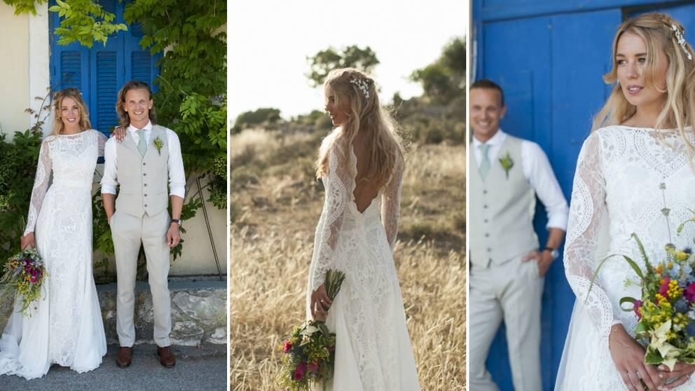 95a48018b57a Kemtvätten slarvade bort Joannas brudklänning | SVT Nyheter