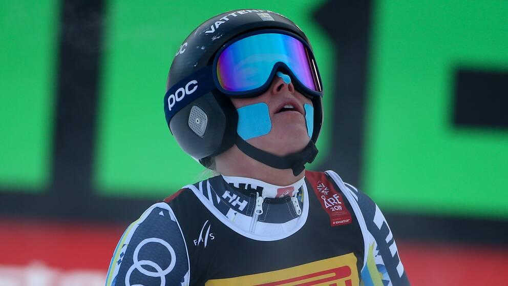 Lisa Hörnblad är laddad inför säsongens första kombination.