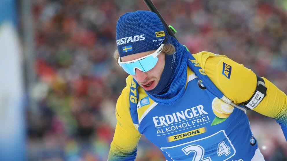 Peppe Femling stod för säsongen bästa insats i Canmore.