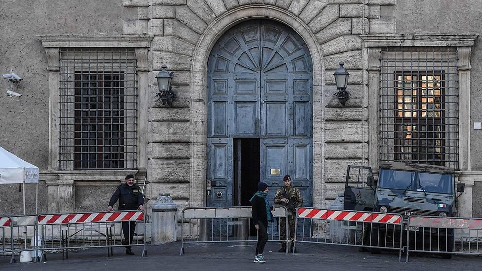 Den franska ambassaden i Rom.