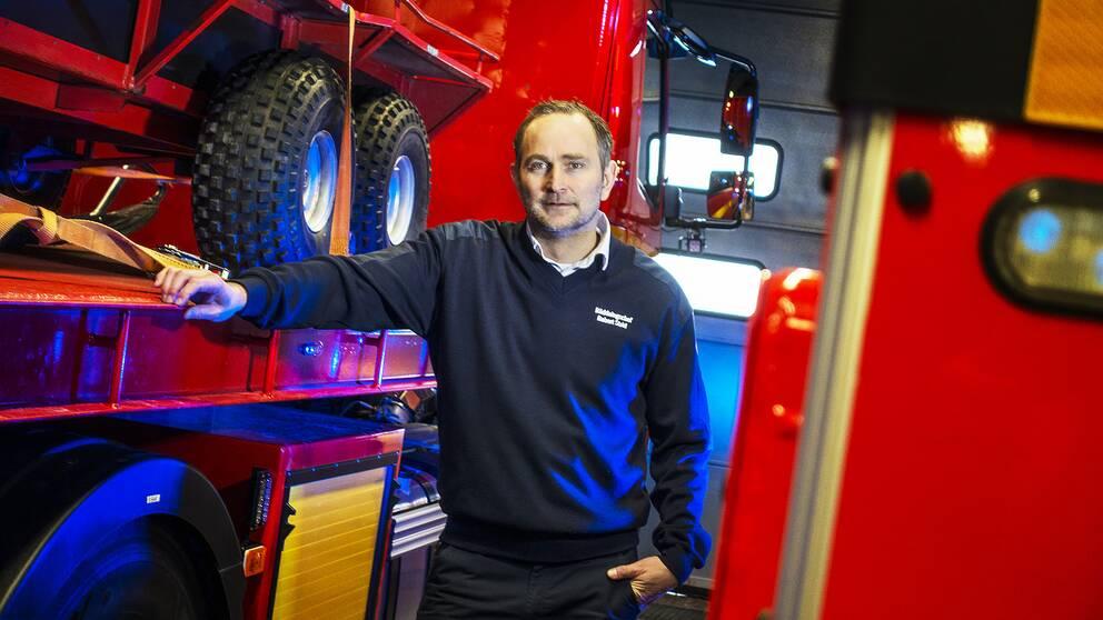 Robert Strid, räddningschef vid Gästrike räddningstjänst.